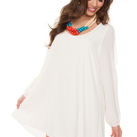 Alanna Shift Dress - Ivory