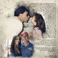 Father Daughter Parents Gift Photo Art Custom Photo Editing