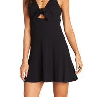 Billabong Hola Holiday Cutout Minidress | Nordstrom