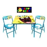SpongeBob Square Table and Chair Set