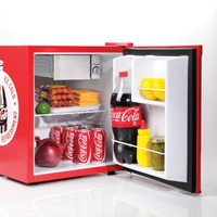 Nostalgia Electrics Coca-Cola Series CRF170COKE 1.7 Cubic Foot Mini Fridge