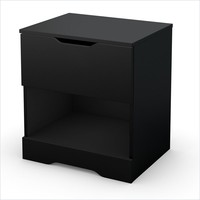 Trinity Night Stand in Pure Black - 3370062