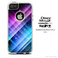 The Neon Glow Paint Skin For The iPhone 4-4s or 5-5s Otterbox Commuter Case