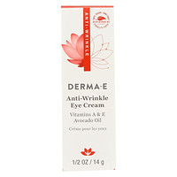 Derma E Anti - Wrinkle Vitamin A Eye Creme - 0.5 Oz