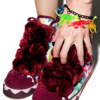 Irregular Choice Bow Ta Fly Trainers Pink