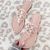 TORY BURCH[tb] 2020 classics Slippers sandals-2