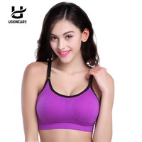 Bras For Women Push Up Bra Workout Adjusted-Straps Lingerie Crop Tops Women's Underwear  Breathable Quick Dry Plus Size