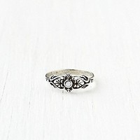 Delicate Organic Stone Ring at Free People Clothing Boutique