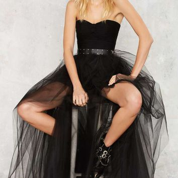 Nasty Gal Tulle for the Summer Tutu Skirt