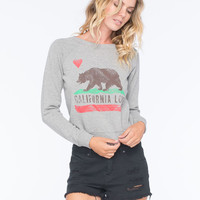 Billabong Rebel Womens Sweatshirt Grey  In Sizes