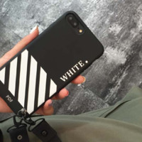 OFF WHITE print phone shell phone case for Iphone 6/6s/6p/7p/7/8/8p