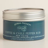 Jansal Valley Coffee and Chile Pepper Spice Mix