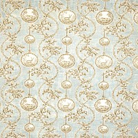 Vervain Fabric 5005803 Warrenton Toile Duck Egg