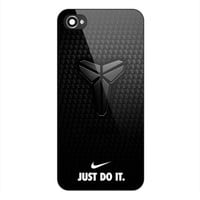 Best COVER CASE IPHONE 7/ 7 Plus Print Design Just Do It Kobe Bryant Black Fiber