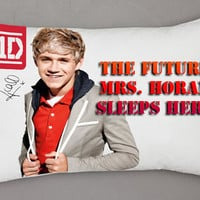 New One Direction Mrs Horan Rectangle Pillow Cases Best Gift / Put Your Name