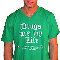 Local Celebrity Drugs Are My Life in Green