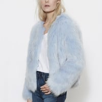 Marshmallow Dream Faux Fur Jacket
