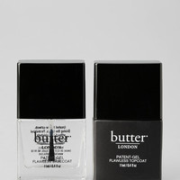 butter LONDON Patent-Gel Top & Tails Set - Urban Outfitters