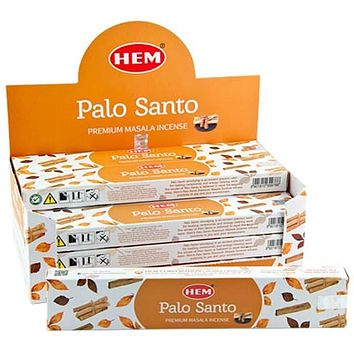 Hem Palo Santo Incense - 15 Gram Pack (12 Packs Per Box)
