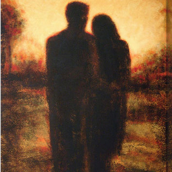 """Contemporary Art Print - """"Alone With You"""""""