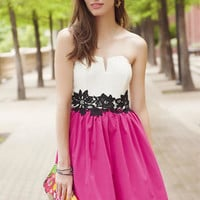 AGNES STRAPLESS DRESS