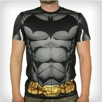 Batman Two Sided Sublimated Active Stretch Tee