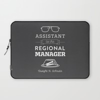 The Office Dunder Mifflin - Assistant to the Regional Manager Laptop Sleeve by Noonday Design