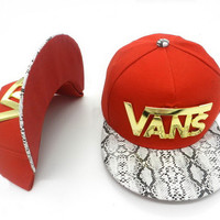 Perfect VANS Women Men Embroidery Sports Sun Hat Hip Hop Baseball Cap Hat