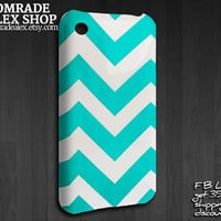 Chevron Pattern iPhone 3GS case, iPhone 3G Cover, iPhone 3G/3GS Case, Chevron Pattern iPhone 3GS Case