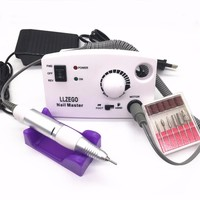 3000RPM 25W Pro Electric Nail Drill Machine File Pedicure Manicure Kits Nail Art Drill Tools For Nail Gel with Nail Drill Bits