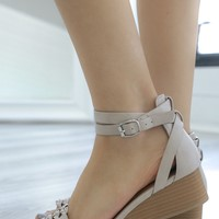 Wendy Wedges - Taupe