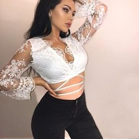 Lucia lace top
