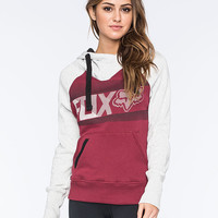 Fox Cohesion Womens Hoodie Burgundy  In Sizes