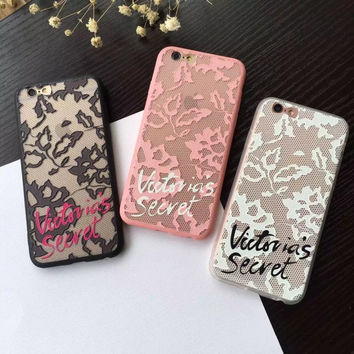 Luxury Victoria Lace Relief Hard Phone from Spoiled Iphones