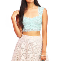 Dreamy Lace Crop Top