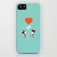 Minnie and Mickey Mouse iPhone & iPod Case by Pink Berry Pattern