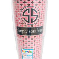 """Simply Southern """"Pink Patterned"""" Tervis"""