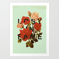 Lost In Fame Art Print by Heather Landis