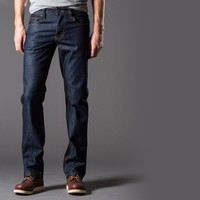 [Natural High] Straight Jeans In Working Man's Blue