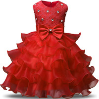 Christmas Princess Dress Baby Girl for Girls Clothing Dress Summer Evening Wear Toddler Girl Kids Party dress for Girls Clothes