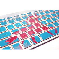 Mac Keyboard Stickers Unicorn Computer Decal by kidecals on Etsy