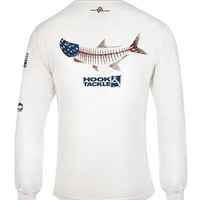 Men's American Tarpon L/S UV Fishing T-Shirt
