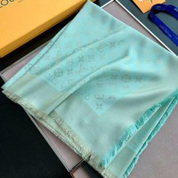 Louis Vuitton Women Scarf Shawl Silk Scarf-24