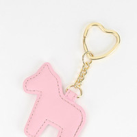 Cooperative Horse Keychain