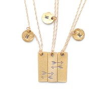 Friendship Necklace for 3