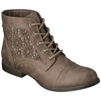 Women's Mossimo Supply Co. Kessi Crochet Boot - Taupe