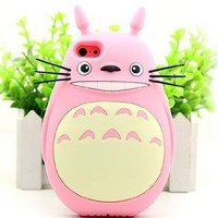 Apple's New Iphone5/5s Phone Shell Mobile Phone Shell Silicone 5 Totoro Cartoon Apple 5s Cover Case (A4)