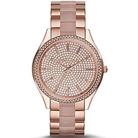 Michael Kors Slim Runway Watch - Rose Gold