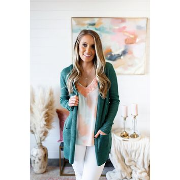 Bad Romance Knit Cardigan (Jade)
