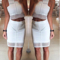 Denisa Two-Piece Party Dress